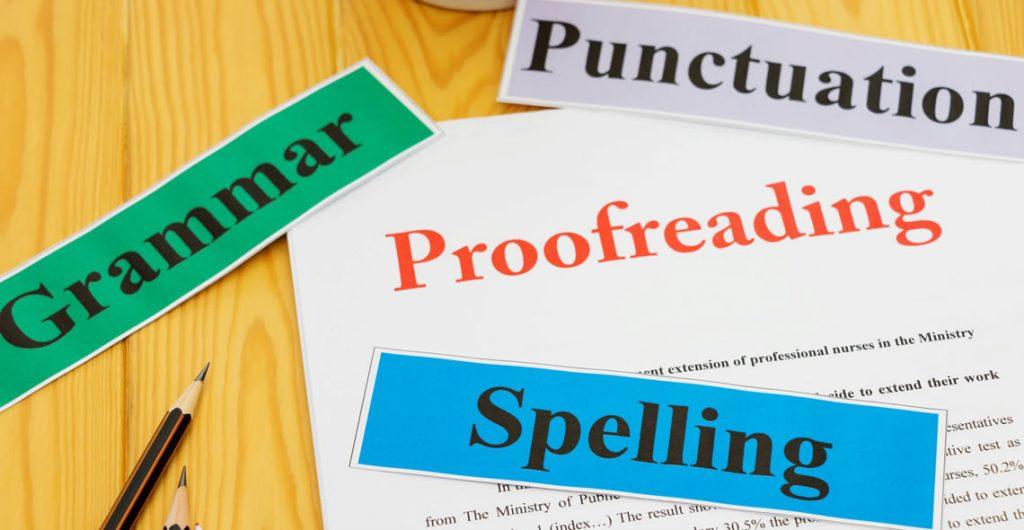 Proofreading Basics Certification